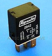 5 Pin automotive type 25Amp  12v MICRO relay  ALT/RY2845