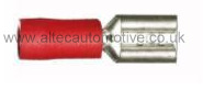 RED PARTIALLY PRE-INSULATED 6.35mm FEMALE SPADE TERMINAL ALT/T3