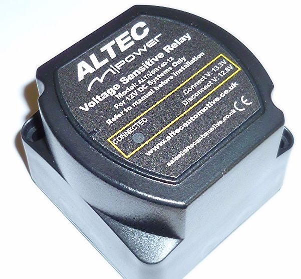 140 Amp 12 Volt Split Charge Relay Voltage Sensing Altec M