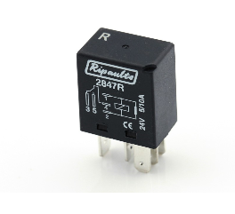 4 PIN MINI MICRO RELAY WITH DIODE 12 V 20 AMP NEW