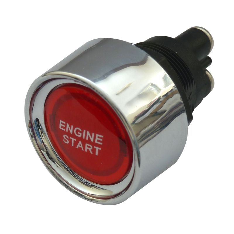 SCI R13-23A RED SPST Non Latching Red Push Switch