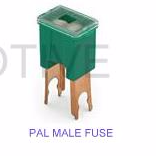 PAL fuse MALE <br>30 - 100 Amp rating<br>  Standard size <br>PAL MALE fuses
