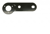 Single towing socket mounting plate   <BR> ALT/TP100-01