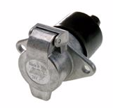 Towing electrics 24 volt 7 pin 24N Trailer socket  ALT/TP800-01