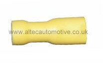 YELLOW PRE-INSULATED 6.35mm FEMALE SPADE TERMINAL ALT/T13